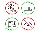 Do Or Stop. Instruction Info, User And Histogram Icons Simple Set. Communication Sign. Project, Proj poster