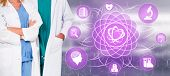 Doctor With Medical Healthcare Research Concept poster