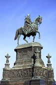 Statue Of King John Of Saxony In Dresden, G