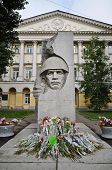 War Memorial And Flowers, Moscow