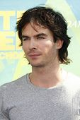 LOS ANGELES - AUG 7: Ian Somerhalder arrives at the 2011 Teen Choice Awards held at Gibson Amphitheatre on August 7, 2011 in Los Angeles, California