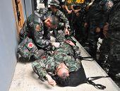 Paramédicos de la policía de formación