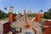 Astronomical Observatory Jantar Mantar In Delhi