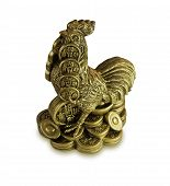 Chinese Feng Shui Money Cock For Riches
