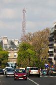 Straße In Paris