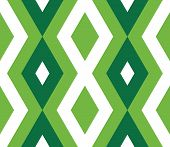 Seamless Pattern With Zigzag, Triangle, Rhombus, Line. Infinity Background Of Geometric Shapes. Patt poster
