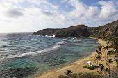Hanauma Bay Overview Oahu Hawaii