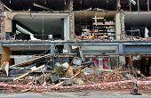 Christchurch Earthquake - Merivale Shops Destroyed