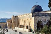 stock photo of aqsa  - Al Aqsa Mosque in Jerusalem - JPG