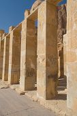The Chapel Of The Goddess Hathor In The Temple Of Queen Hatshepsut
