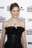 SANTA MONICA, CA - FEB 25: Fiona Hefti at the 2012 Film Independent Spirit Awards on February 25, 20