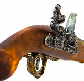 Flintlock Pistol Detail