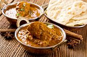 chicken madras with naad bread