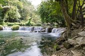Jed Sao Noi Waterfall, Saraburi, Thailand