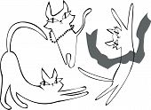 Cat Clipart Set