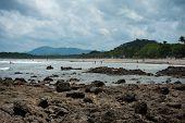 Low tide in Tamarindo