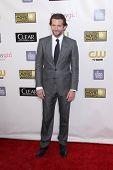 LOS ANGELES - JAN 9:  Bradley Cooper arrives at the 18th Annual Critics' Choice Movie Awards at Barker Hangar on January 9, 2013 in Santa Monica, CA