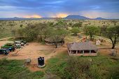Safari Camp In The Serengeti