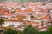 View On City Montemor-o-novo, Portugal