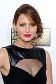 LOS ANGELES - JAN 10:  Jennifer Lawrence arrives at the 18th Annual Critics' Choice Movie Awards at