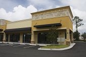 Earthtone Strip Mall