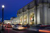 Washington DC, Union Station in der Nacht