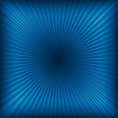 Blue Abstract Light Rays Background Or Texture