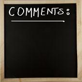 Blackboard Comments