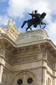 Vienna Opera House Fountain Statues Austria Europe
