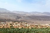 foto of oman  - The red brick village lies in north central Oman - JPG
