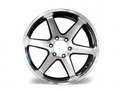 Car Aluminum Allow Wheels On White Background