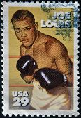 United States - Circa 1993 : Stamp Printed In Usa Shows Joe Louis, Circa 1993