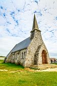 Church Notre Dame De La Garde Chapel. Etretat, Normandy, France.