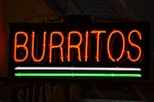 Burritos Sign