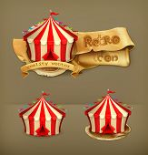 stock photo of awning  - Circus - JPG