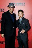 NEW YORK-SEP 10: Actors Raymond Franza (L) and John D'Leo  attend