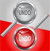 Undo. Raster magnifying glass.