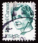 Postage Stamp Usa 1981 Rachel Carson, Marine Biologist
