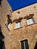 Architecture of the Old City of Dubrovnik (Croatia)