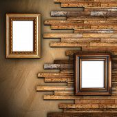 Abstract Wall With Two Frames