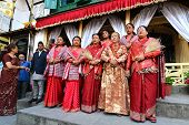The Queen And The  Royal Ladies Of Nepal