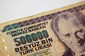 A Five Million Turkish Lira Bill From Turkey