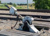 Points Level On Railway Track New Zealand