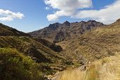 Valley and Moutain at Canary Island