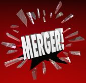 Merger Breaking News Glass Combining Companies Alert Update