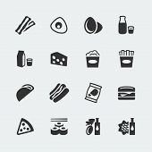 Vector Food Mini Icons