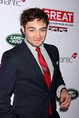 LOS ANGELES - FEB 28:  Ed Westwick at the 2014 GREAT British Oscar Reception at The British Residenc