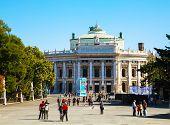 The Burgtheater In Vienna, Austria