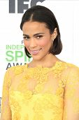 SANTA  MONICA - MAR 1: Paula Patton at the 2014 Film Independent Spirit Awards at Santa Monica Beach on March 1, 2014 in Santa Monica, California