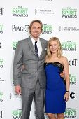 LOS ANGELES - MAR 1:  Dax Shepard, Kristen Bell at the Film Independent Spirit Awards at Tent on the